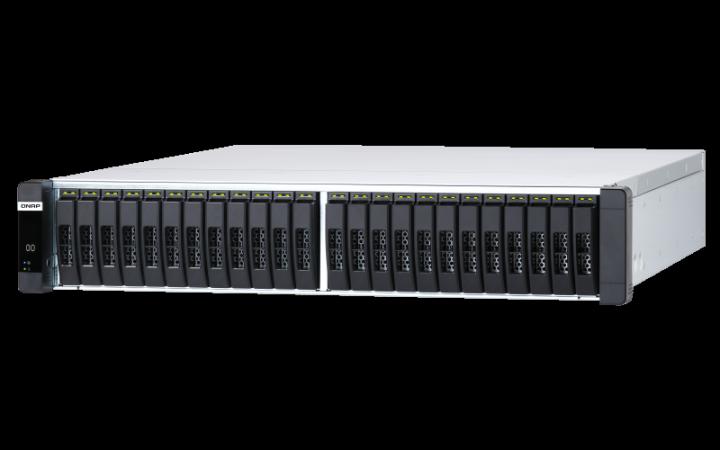 QNAP ES2486dc ZFS-NAS All-Flash Storage Server