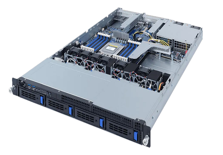 Gigabyte R162-ZA0 1U Rack 4 Bay 8 Channel RDIMM