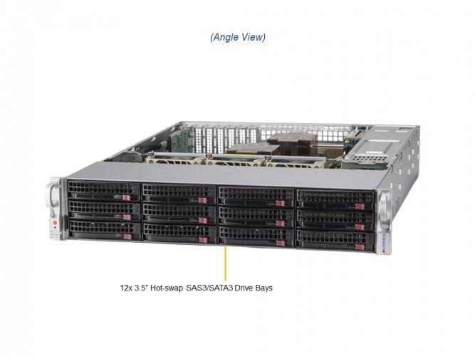 Supermicro SuperServer SSG-620P-ACR12H 2U Rack
